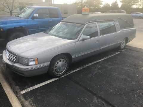 great shape 1997 Cadillac DeVille Miller Meteor Hearse for sale