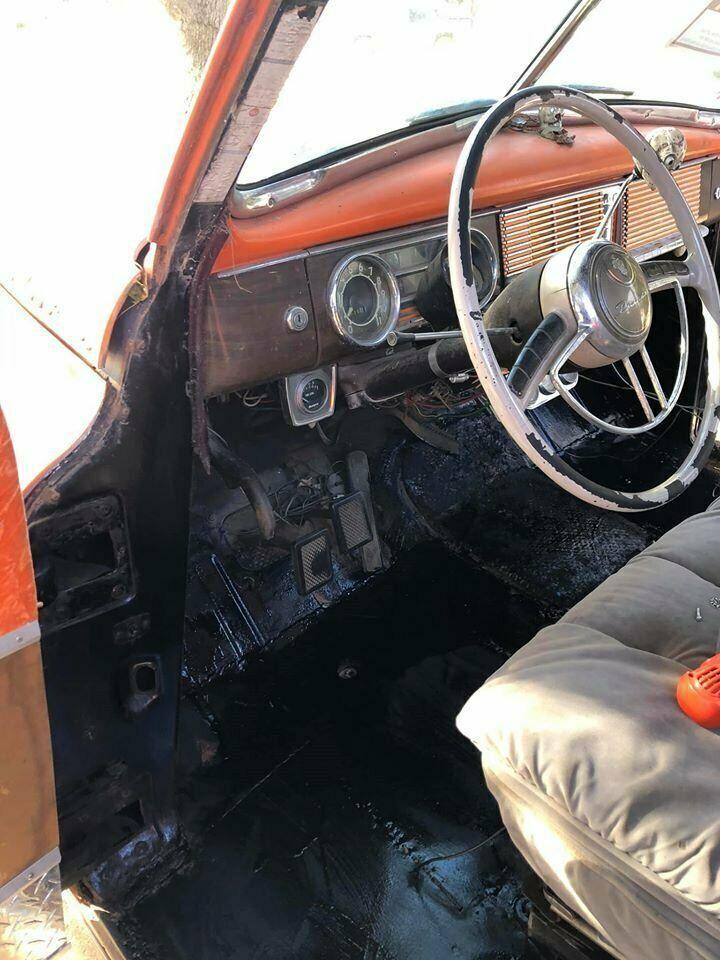 rare 1948 Packard Hearse