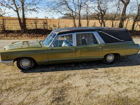 rare 1966 Pontiac Bonneville hearse for sale