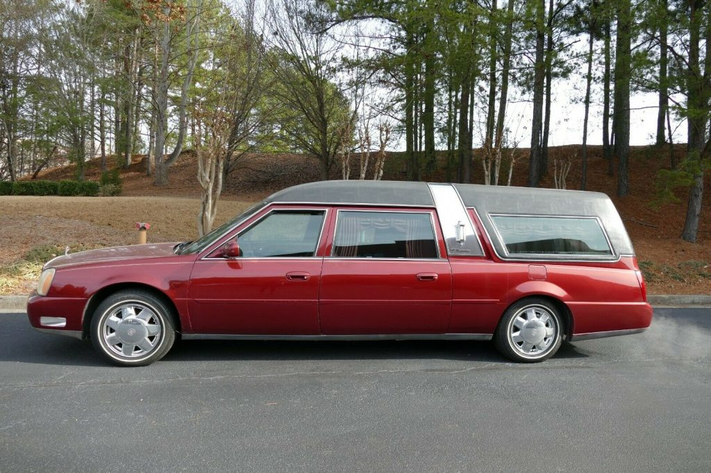 some issues 2001 Cadillac S&S Hearse