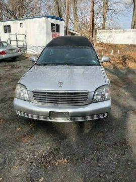 some issues 2005 Cadillac DTS Superior Hearse for sale