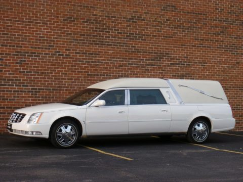 very nice 2007 Cadillac DTS Funeral Hearse for sale