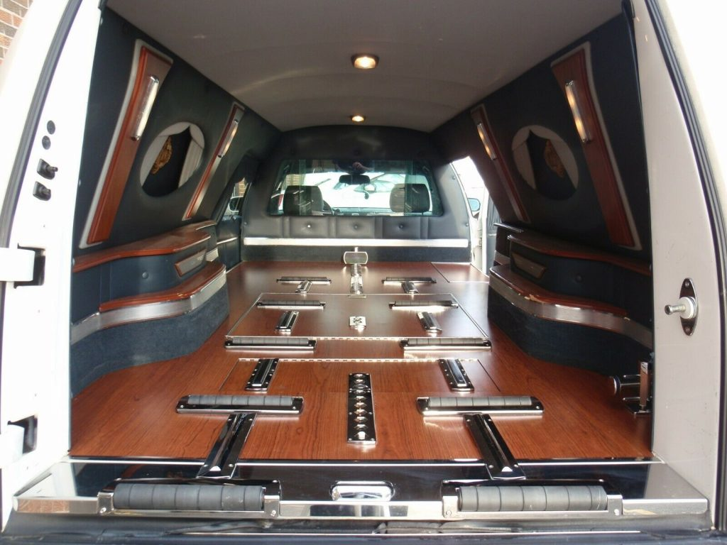 very nice 2007 Cadillac DTS Funeral Hearse