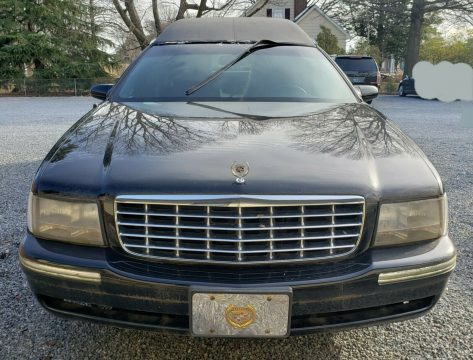 very solid 1998 Cadillac DeVille Limited Hearse for sale