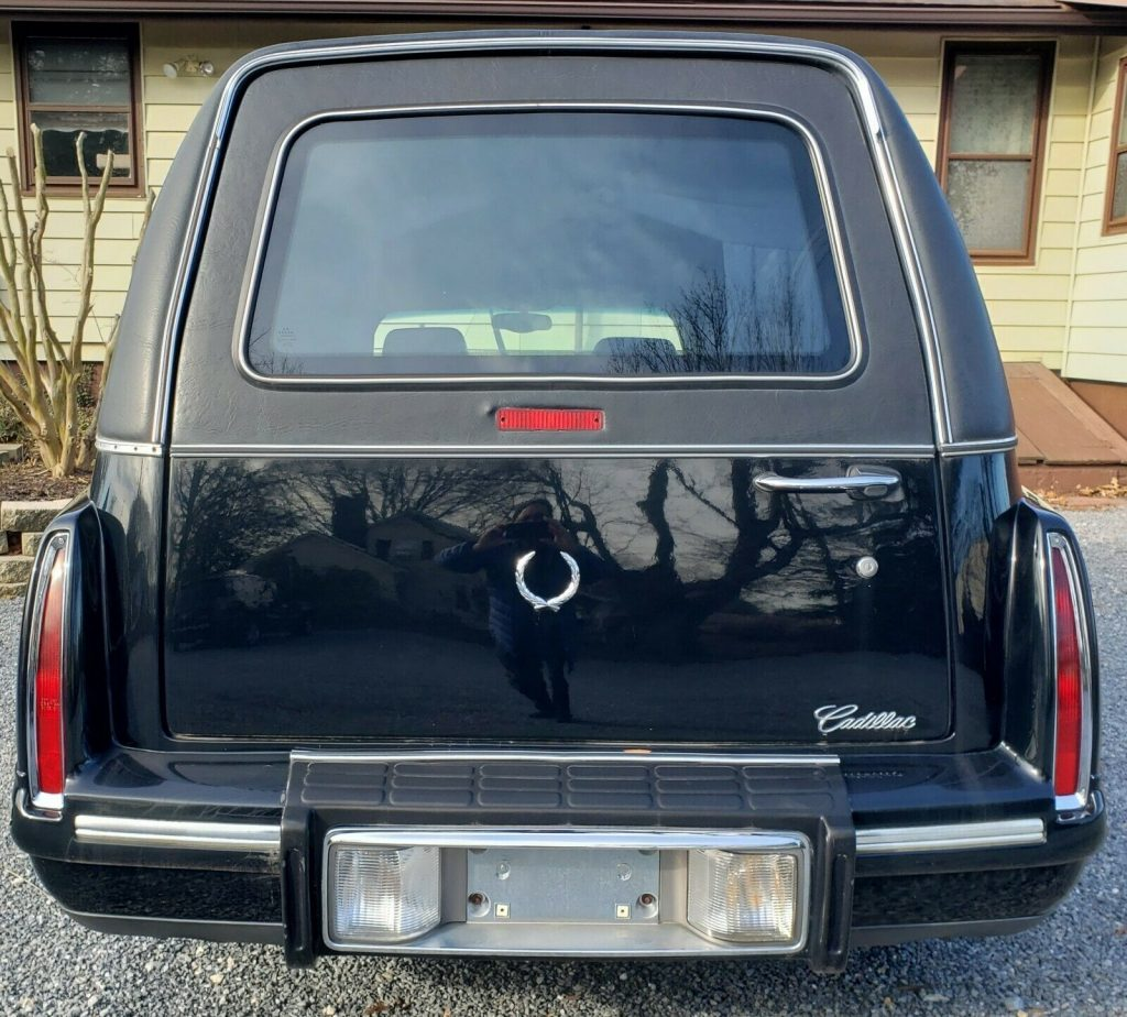 very solid 1998 Cadillac DeVille Limited Hearse
